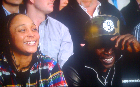 The Ringside Crowd At Bernard Hopkins' Fight Fittingly Included Two Of The Best Characters From 'The Wire'