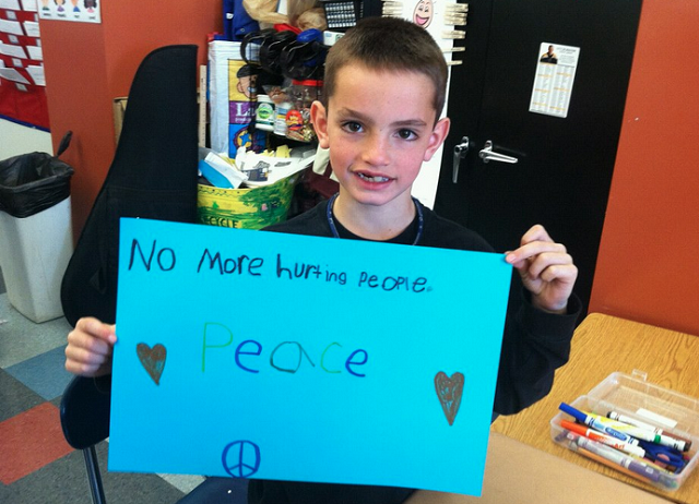 We Could Learn A Lot From Martin Richard, The 8-Year-Old Killed At The Boston Marathon