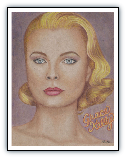 Oh Look, Jodi Arias Painted A Portrait Of Grace Kelly