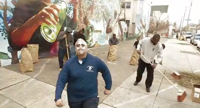 This Weekend In Noteworthy 'Philly Clean-Up' Video Moments