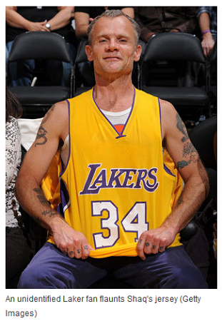 Who, Oh Who, Could This &#8216;Unidentified Laker Fan&#8217; Be?