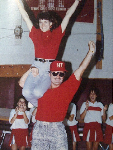 Poo-playin' Alan Carr, from the 1991 Haddon Twp. High School yearbook