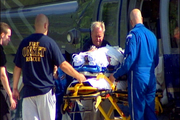 Marion, Mass. hit-and-run victim being treated