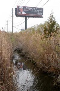 Where the bodies were found. (Photo by Michael T. Regan)