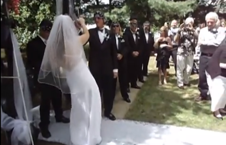 Hey Look, Some Bride Walked Down The Aisle To The Song 'Crazy Bitch'