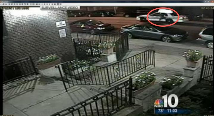 Surveillance footage of W. Phila. hit-and-run