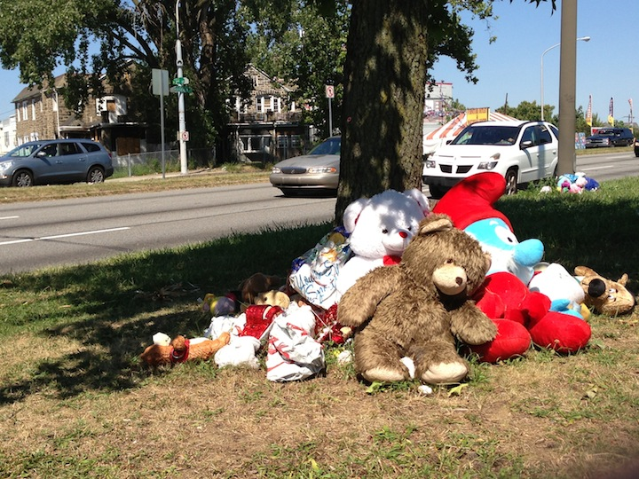 More Than A Month Later, Tributes Remain At Site Of Hit-And-Run That Claimed Mother, Three Sons