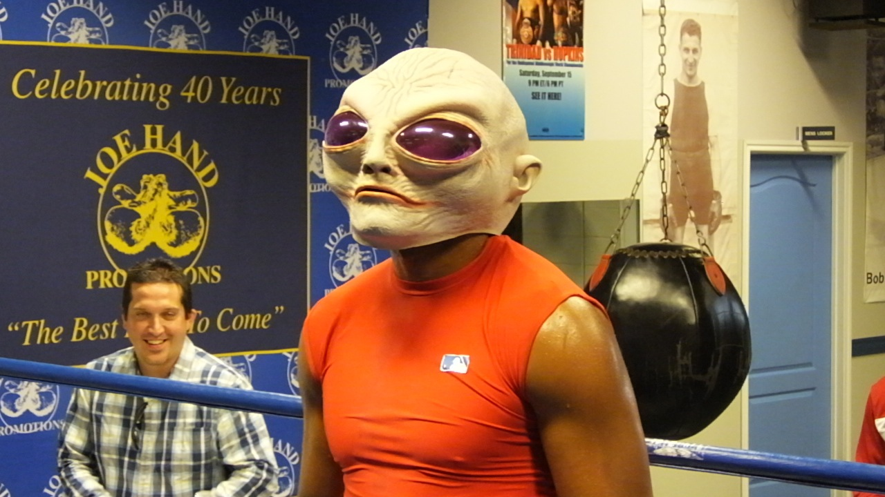 So, Yeah, Bernard Hopkins Has Evolved From The Executioner Into An Alien