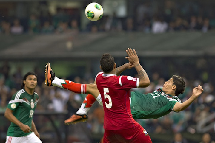 Check Out The Goal That Kept Mexico's Dreams Of World Cup Qualification Alive