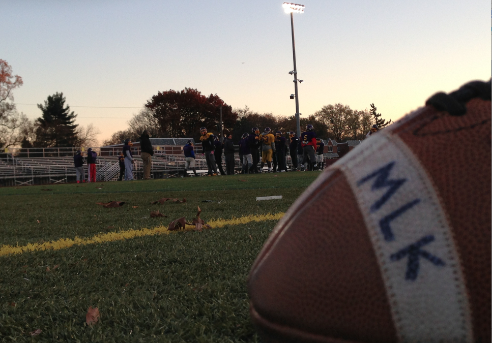 The Upstart MLK High Cougars Football Team Prepares For Saturday's City Title Game