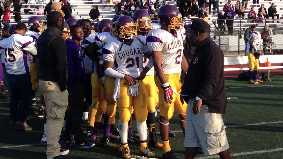 MLK High Cougars Lose 52-8 In PIAA AAA Football Championship Game