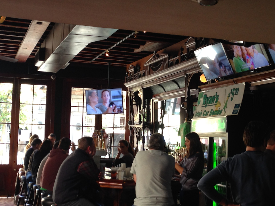 Also went to Ryan's Irish Pub for the mighty Denver Broncos game vs. New England