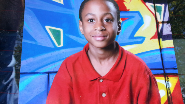 8-year-old Darrin Wilhite, killed in a Detroit hit-and-run