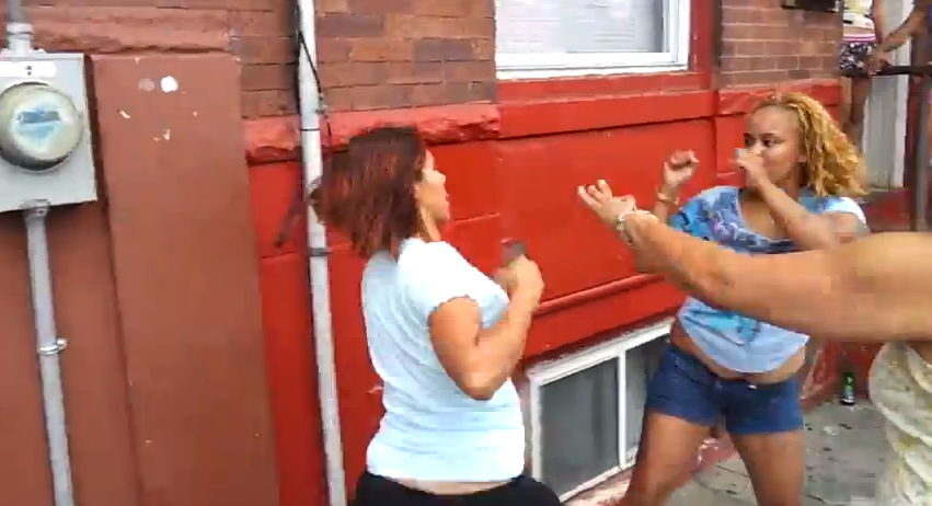 Hey Look, Someone Uploaded Six New N. Philly Street Fights On Valentine's Day Weekend
