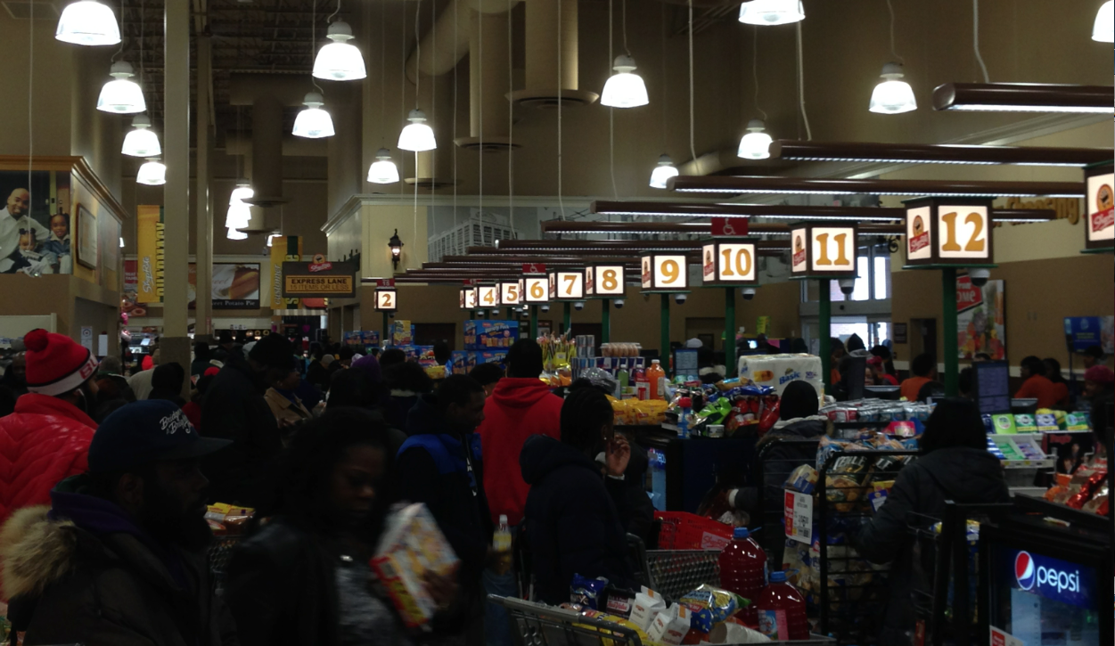 Armageddon Now: A Philly Supermarket Hours Before A Projected Snowstorm