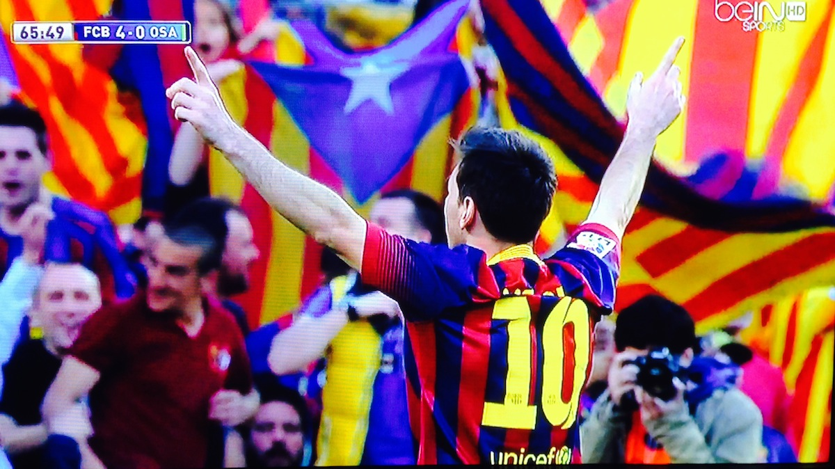Watch Lionel Messi Become Barcelona's All-Time Leading Goal Scorer [Video]