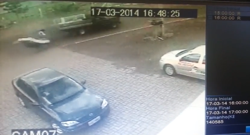 Watch A Cyclist In Brazil Survive A Hit-And-Run By Landing On A Mattress