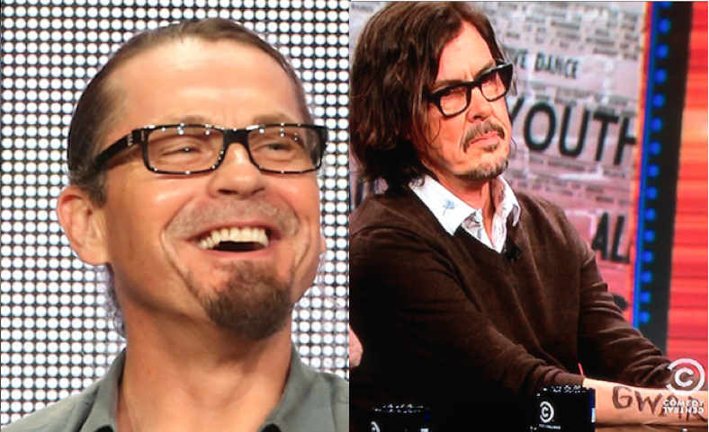 Are Kurt Sutter And Gibby Haynes the Same Person?