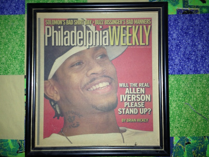 Allen Iverson, My Favorite Philly Athlete Of All-Time, Will Have His Number Retired Tonight