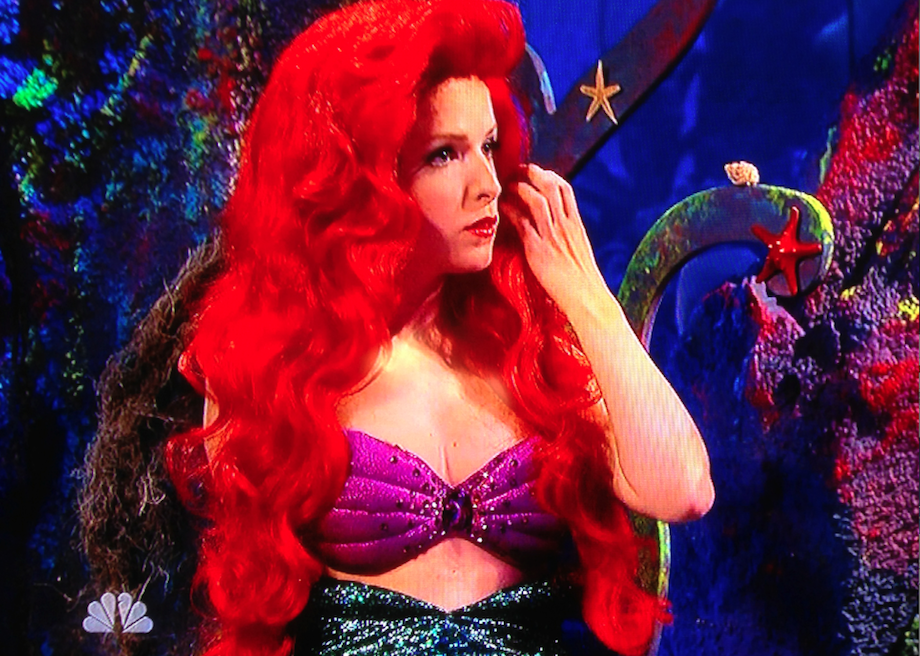Watch Anna Kendrick As A Modern-Day Little Mermaid On SNL