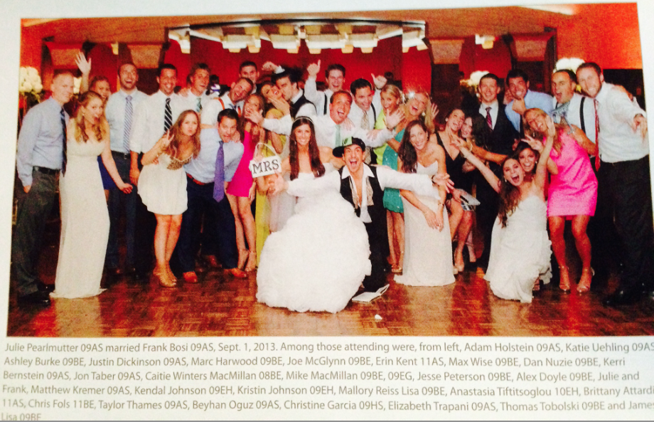 This Is One, Um, Memorable Wedding Photo From The University Of Delaware's Alumni Magazine