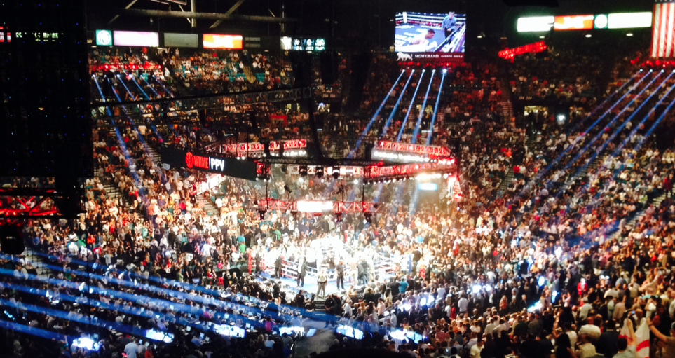 Here's Some Pictures And Video From The Floyd Mayweather Vs. Marcos Maidana Fight