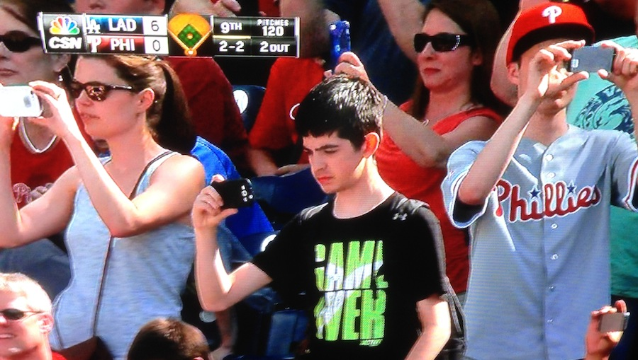 A Postcard From Josh Beckett's No-Hitter Against The Phillies