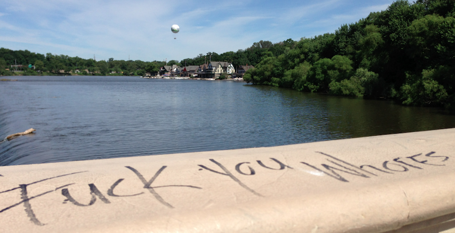 Somebody Should Clean Up The Profane Scribblings At The Fairmount Water Works [Updated]