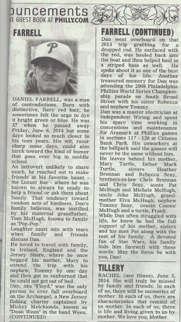 RIP Daniel Farrell