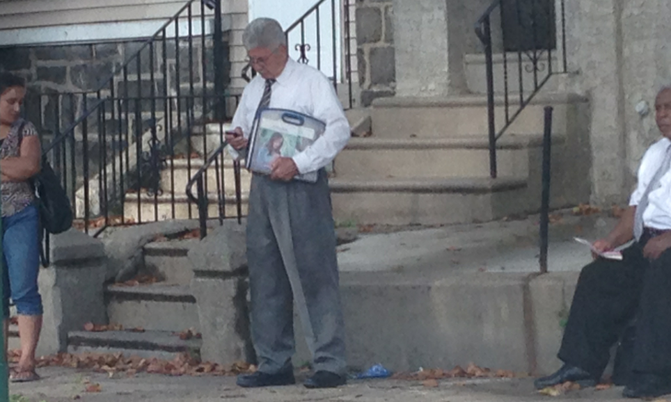 This Gentleman Is Literally Holding A Binder Full Of Women (s Pictures) [Updated]