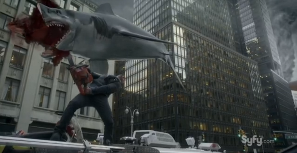 Here Are 3 (Or 4) Memorable Highlights From 'Sharknado 2: The Second One'
