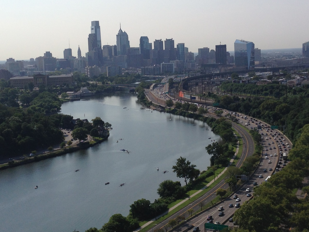 The View From The Philadelphia Zoo Balloon Is Really Awesome