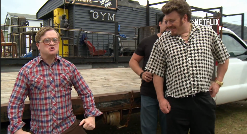 Trailer Park Boys Are On Netfix Now! Also, They Met Snoop Dogg.