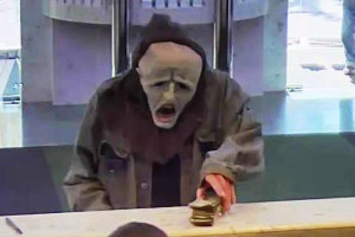 Halloween-Masked Man Robs Suburban Philadelphia Bank … Again