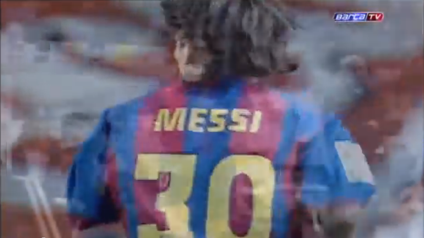 Here's Video Of Lionel Messi's 2004 Debut For Barcelona