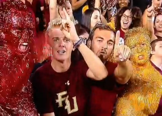 Here's A Vine Of The Florida State Glitter Bros