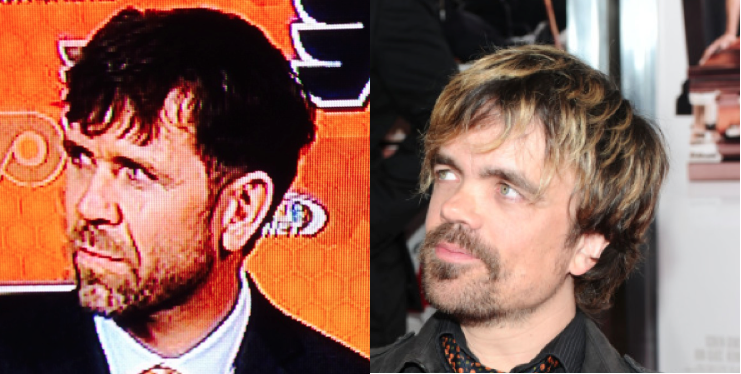 I Can't Tell Peter Dinklage And Eric Dejardins Apart