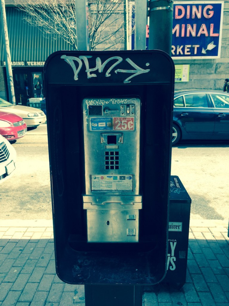 This Is Philadelphia's Saddest Payphone
