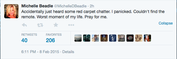 In Which Michelle Beadle Enables Me To Take A Stand Against Twitter DMs Sans Follows
