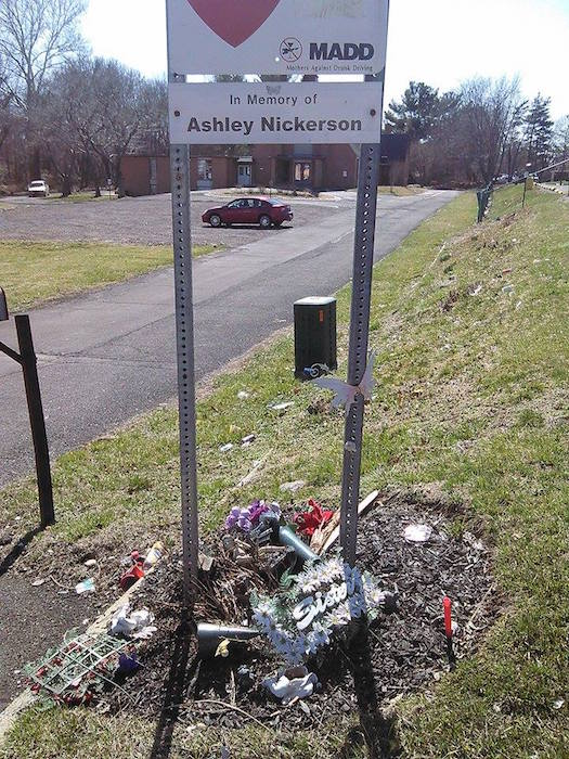 Memorial For Pa. Girl Killed In DUI Hit-And-Run Vandalized
