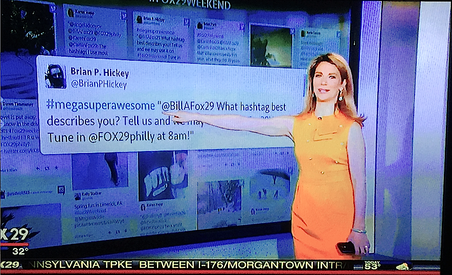 Hey Look, Fox29 Aired Another @BrianPHickey Tweet