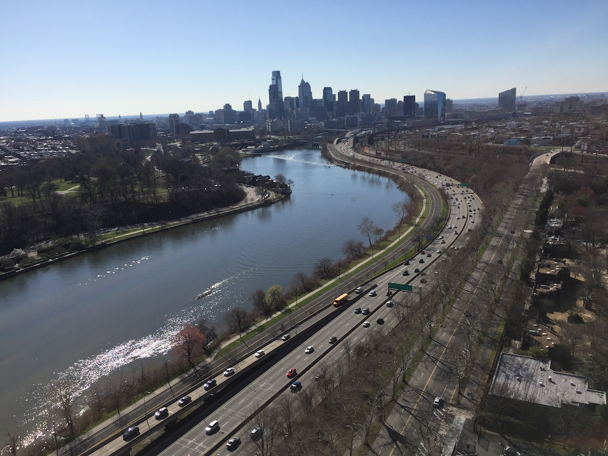 The View From The Philadelphia Zoo Balloon, 4/12/15