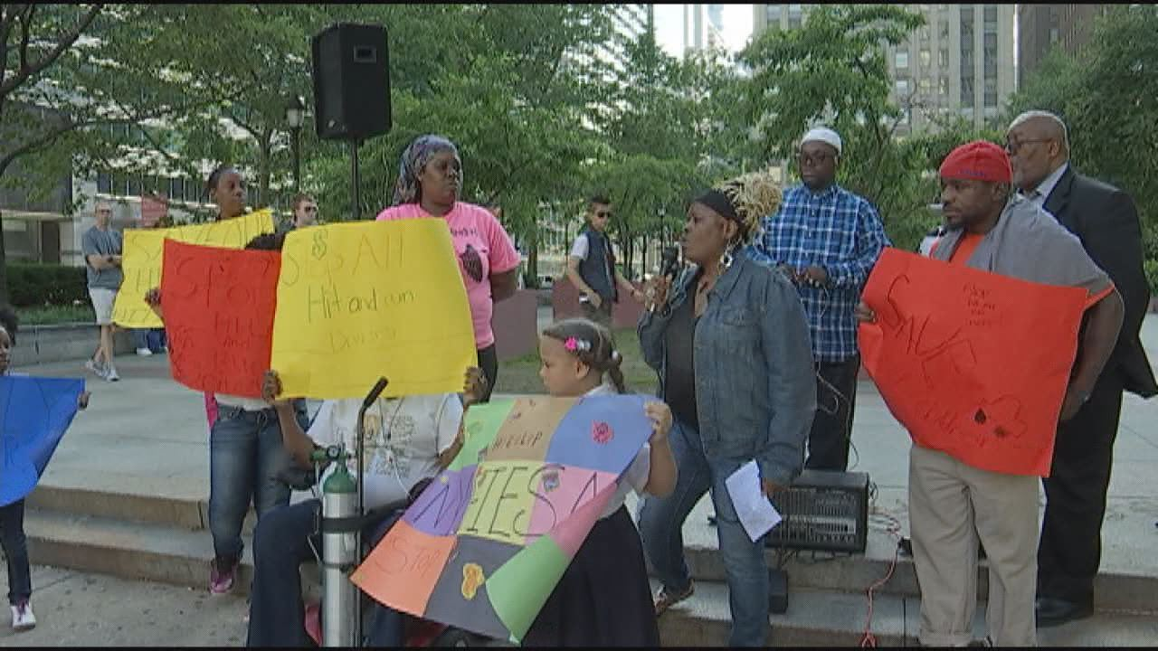 Family of 8-Year-Old Hit-And-Run Victim Hosts Rally In LOVE Park