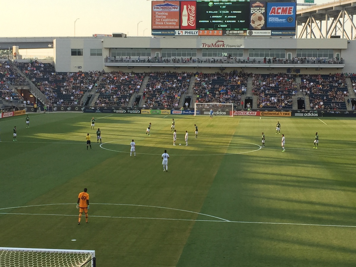 Sights And Sounds From The Philly Union's 3-0 Win Over The Portland Timbers