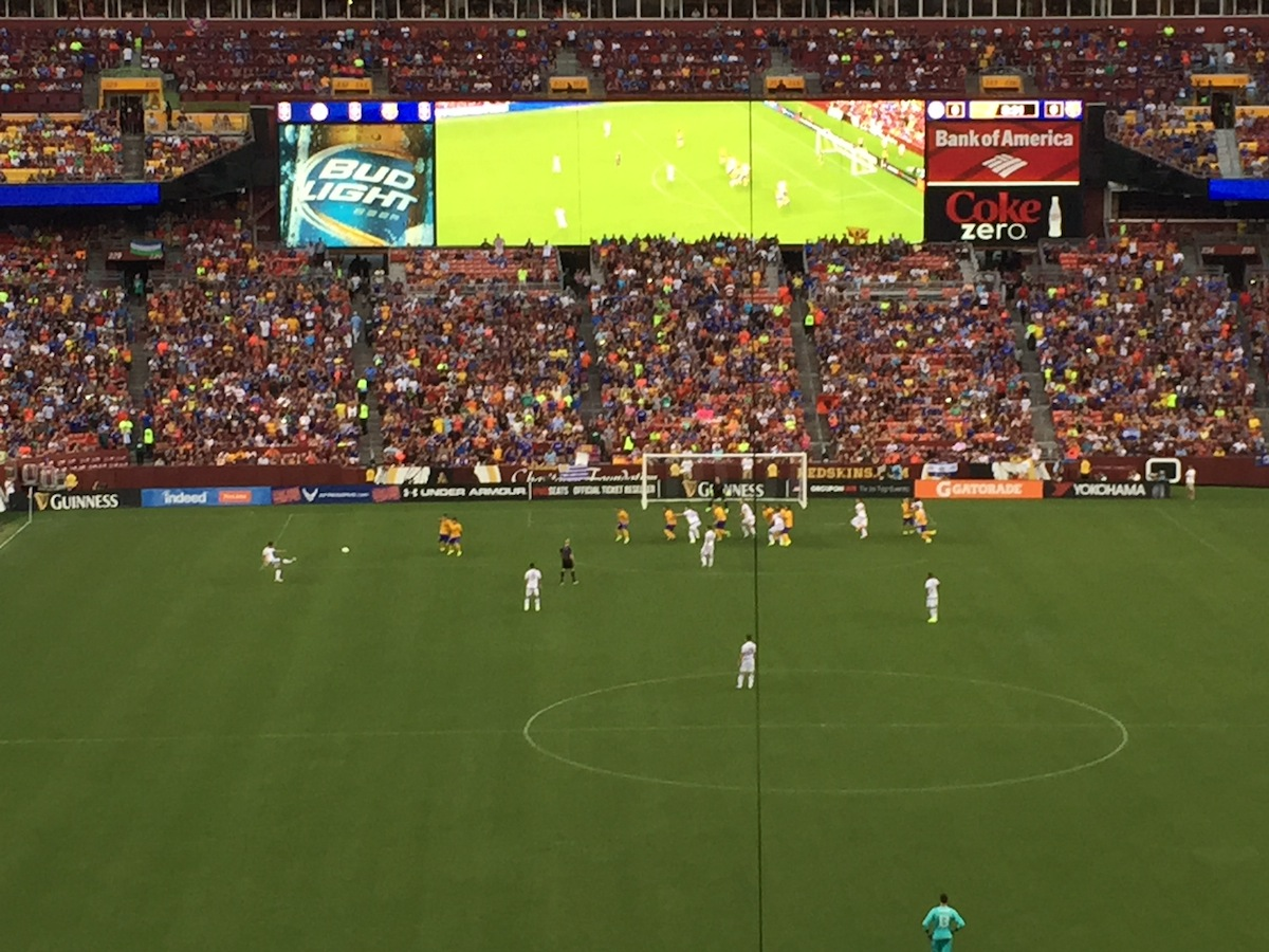 Photos And Video From The Barcelona/Chelsea Match At FedEx