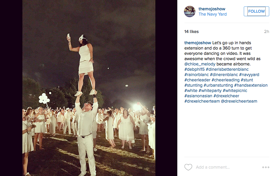 Photos From Philly's Le Dîner en Blanc 2015 (With Alternate Captions)