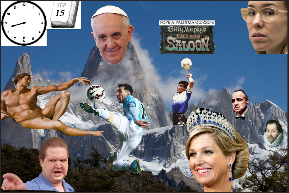 Pope Francis Is Coming To Philly, So My Sept. 15 Quizzo Will Be In His Honor